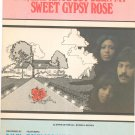 Say Has Anybody Seen My Sweet Gypsy Rose Sheet Music Orlando Levine & Brown