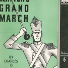 Vintage Clayton's Grand March Blake Piano Solo Sheet Music Moderne