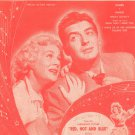 Now That I Need You Where Are You Vintage Sheet Music Loesser Famous