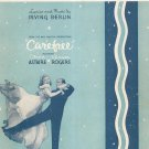 Change Partners Carefree Vintage Sheet Music Berlin