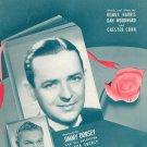 A Rose And A Prayer Vintage Sheet Music Harris Woodward Conn BVC