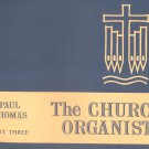 The Church Organist Part Three Paul Thomas
