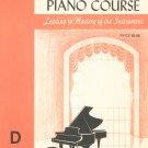 Vintage John Schaum Piano Course The Orange Book D Belwin