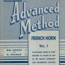 Vintage Rubank Advanced Method French Horn Volume 1 Gower & Voxman