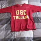 University Of Southern California USC Trojans Youth 3/4 Sleeve Shirt Never Worn
