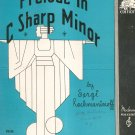 Prelude In C Sharp Minor Piano Solo Sheet Music Vintage Rachmaninoff  Moderne