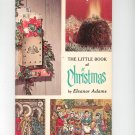 Vintage The Little Book Of Christmas Cookbook Plus by Eleanor Adams