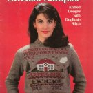 Sweater Sampler Knitted Designs Rosen & Young Leisure Arts Leaflet 249