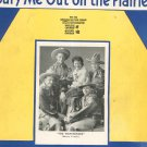 Bury Me Out On The Prairie Massey Family Sheet Music Calumet Vintage
