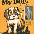I've Lost My Dog Jerry Buckley Sheet Music Consolidated Vintage