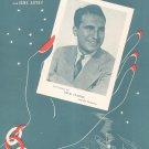 Goodbye Little Darlin Goodbye Marvin Autry Sheet Music Harms Vintage