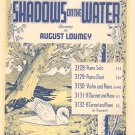 Shadows On The Water Loumey Reverie Sheet Music Century Vintage