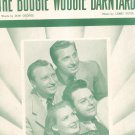 The Boogie Woogie Barnyard Fitin George Helen Carol Satisfiers On Cover Sheet Music Jewel Vintage