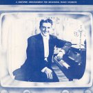 The Liberace Theme Simplified Piano  Sheet Music Bel Canto Vintage