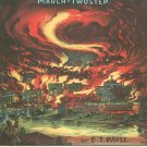 The Burning Of Rome March Two Step Pavll Sheet Music Paull Vintage