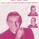 Powder Your Face With Sunshine Smile Smile Smile Guy Lombardo Carmen Lebert Sheet Music  Vintage