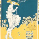 April Showers Bring May Flowers Wood Shilkret Sheet Music Feist Vintage