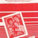 Civilization Bongo Bongo Bongo Hilliard Sigman Sheet Music Morris Vintage