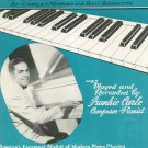 Dream Train Frankie Carle Piano Transcription Newman Baskette Sheet Music Forster Vintage