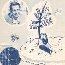 A Dreamer's Holiday Gannon Wayne Sheet Music Skidmore Vintage