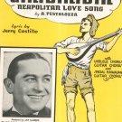 Ciribiribin Neapolitan Love Song Pestalozza Sheet Music Calumet Vintage