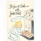 Vintage It's Fun To Cook With Jack Frost Cookbook