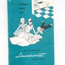 Vintage Westinghouse Laundromat Automatic Washer Model LB-6 & RL-1 Owners Manual Not PDF