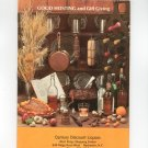 Vintage Good Hosting And Gift Giving Liquor Catalog Plus 1974