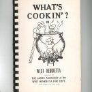 What's Cookin In West Henrietta Cookbook Ladies Auxiliary Regional New York Vintage