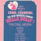 Hello Dolly Jerry Herman Sheet Music Morris Vintage