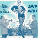 The Last Call For Love Harburg Margery Cummings Lane Ship Ahoy Sheet Music Feist Vintage