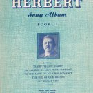 Vintage Victor Herbert Song Album Book II