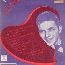 Vintage Frank Sinatra's Songs Of Romance Buy United States War Savings Bonds