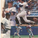 New York Yankees 1988 Scorebook & Souvenir Program Jack Clark The Ripper On Cover
