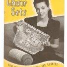 Vintage Chair Sets New Ideas Crochet Book 181 Spool Cotton