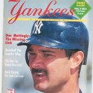 Yankees Magazine Back Issue June 1993 With Poster Not PDF
