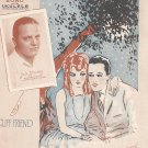 Vintage I Told Them All About You Sheet Music Jack Stanley On Cover Remick