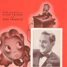 Vintage I Must See Annie Tonight Sheet Music Guy Lombardo On Cover BVC
