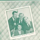 Vintage We Wish You A Merry Christmas Campbell Weavers On Cover Sheet Music