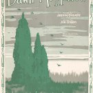 Vintage Dawn Of To Morrow Gravelle Green Sheet Music