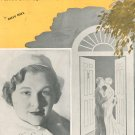 Vintage Lights Out Kate Smith On Cover Sheet Music Close Your Eyes Dream Of Me