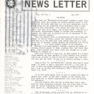 Marquetry Society Of America News Letter May 1978 Not PDF Patterns Artistry In Wood