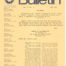 Marquetry Society Of America News Letter May 1976 Not PDF Patterns Artistry In Wood