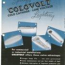 Vintage Colovolt Cold Cathode Low Voltage Lighting General Luminescent Catalog / Pamphlet
