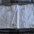 Lot Of 2 Dilly Uniform by Encompass White Scrub Top Women Large In Package