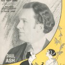 Vintage Just Once Again Sheet Music Melody Fox Trot Donaldson Ash