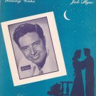 Vintage It's Been A Long Long Time Andy Russell On Cover Sheet Music Cahn Styne