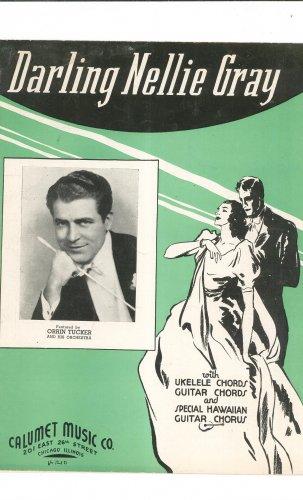 Vintage Darling Nellie Gray Orrin Tucker On Cover Sheet Music