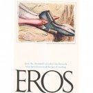 Vintage Large EROS Magazine Fold Out Advertisement Brochure 1962
