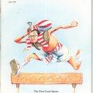 Smithsonian Magazine June 1992 Back Issue Not PDF Egyptian Hurdler